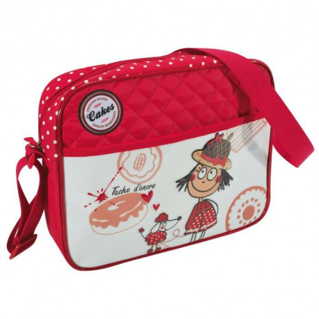 "SAVEBAG Petite besace ""Loulou"" pour fille - Rouge"