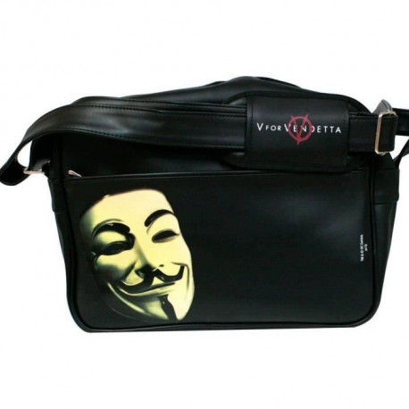 WTT V FOR VENDETTA MASQUE Sac bandouliere - Noir