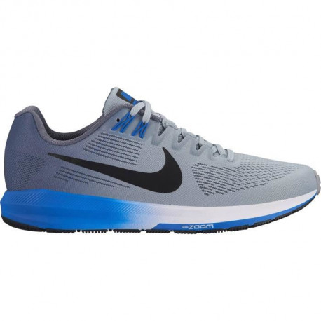 NIKE Chaussures de running Air Zoom Structure - Homme - Gris