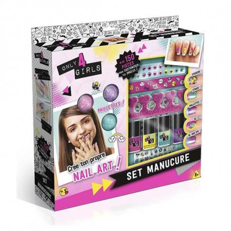 SET MANUCURE - Only for girls