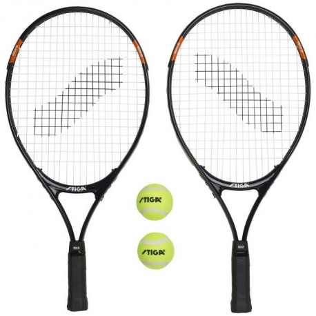 STIGA Set de tennis Tech 21 - Noir