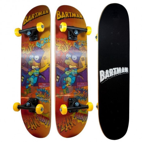 LES SIMPSONS Skateboard Enfant Bart Simpsons