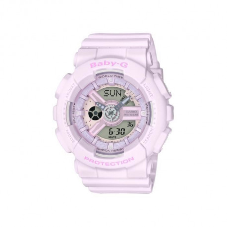 CASIO Montre BABY-G BA-110-4A2ER Rose