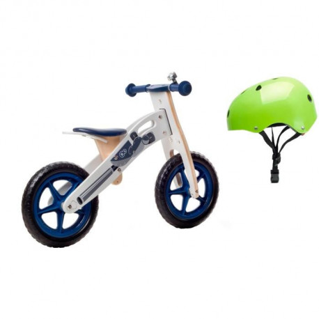 KINDERKRAFT Draisienne MOTO + Casque