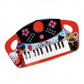 MIRACULOUS/LADYBAG Piano électronique a 25 touches - 8 mélodies - 8 rythmes - 8 instruments