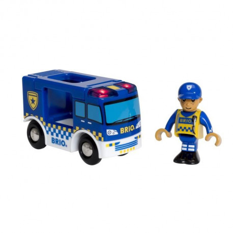 BRIO World  - 33825 - Camion De Police Son Et Lumiere