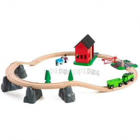 BRIO World  - 33790 - Circuit Ferme Equestre