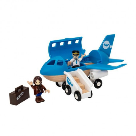 BRIO World  - 33306 - Avion De Voyageurs