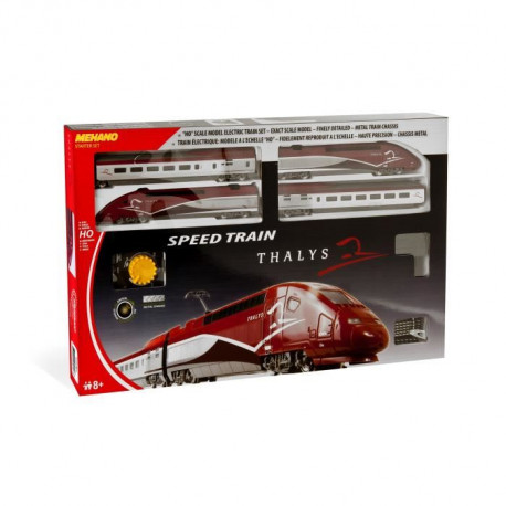 MEHANO Coffret de train TGV THALYS - Circuit de train 3,35 m