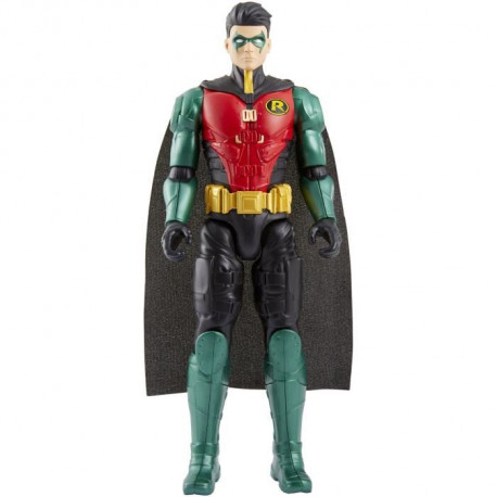 JUSTICE LEAGUE - Figurine Robin - Batman Missions - 30 CM