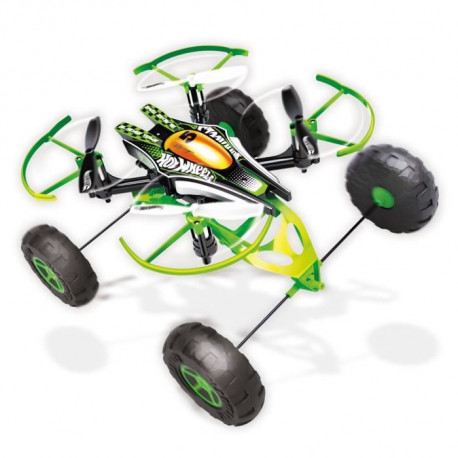 MONDO - Hot Wheels - monster X-Terrain - drone 3 en 1 - 17cm - Garçon - Mixte - A partir de 8 ans