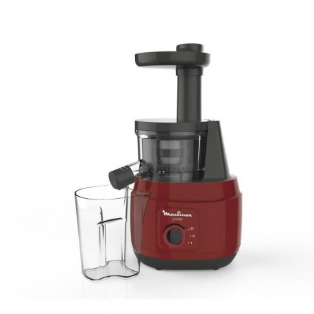 MOULINEX ZU150510 Extracteur de jus Juiceo - Rouge