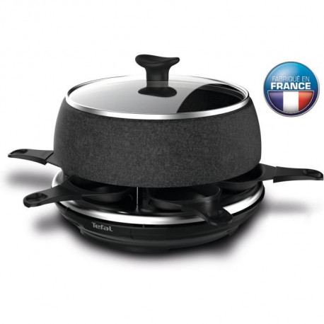 TEFAL RE12C812 Raclette Cheese N'Co - 6 personnes - Noir