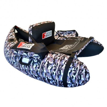 SEVEN BASS Float Tube Hecko 130 - Camouflage