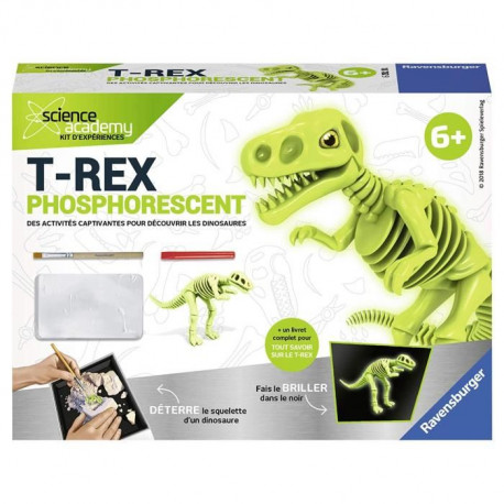 SCIENCE X RAVENSBURGER Mini T-Rex Phosphorescent Jeu Educatif