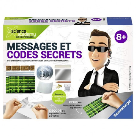SCIENCE X RAVENSBURGER Mini Messages et Codes Secrets Jeu Educatif