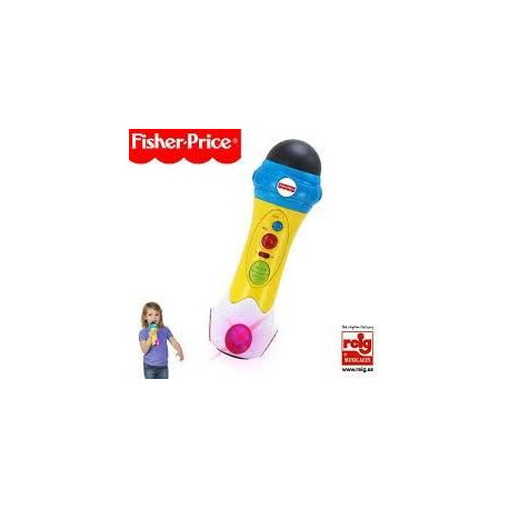 FISHER PRICE Micro enregistreur Rap