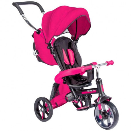 STROLLY - Tricycle Evolutif Strolly Bike - Rose
