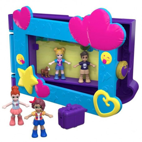 POLLY POCKET - Polly & ses Amis Prennent La Pose