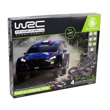 WRC Set 1/43 Radical Jumping Rallye - 8 m - Circuit électrique