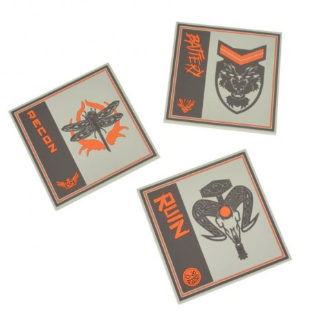 Set de 3 Sous-verres Call of Duty Black Ops 4 Silicone