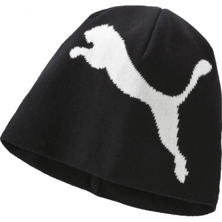 PUMA Bonnet de Ski PCK6 Big Cat Beanie -Adulte - Noir