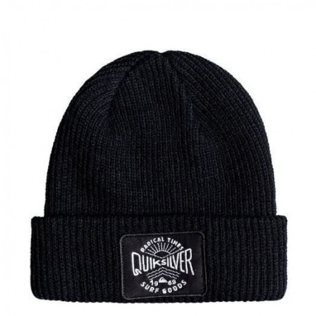 QUIKSILVER Bonnet Performed Patch - Enfant - Noir