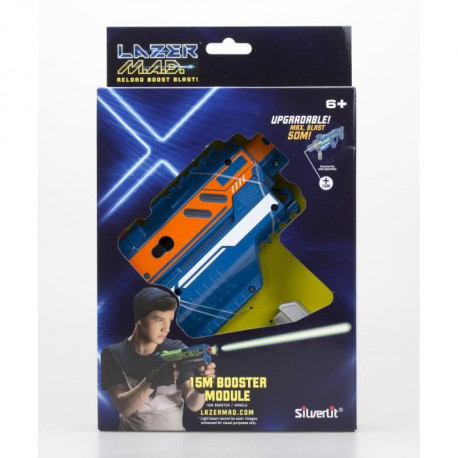 LAZER M.A.D. - Super Blaster Kit - Bleu & Orange