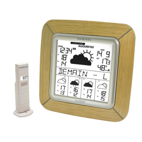 LA CROSSE TECHNOLOGY WD9005F-NAT Station météo Chene bronze - Beige