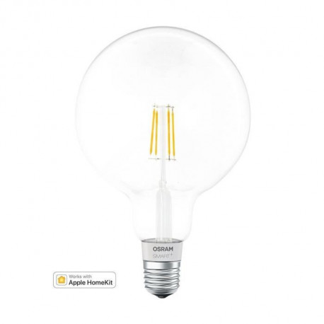 OSRAM Globe filament LED connecté dimmable Smart+ - Culot E27