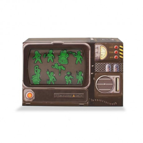 Set de Pins Fallout 76 : Pip-Boy