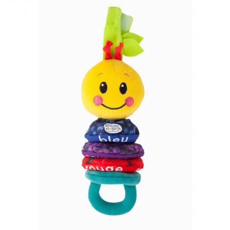 BABY EINSTEIN Chenille musicale en peluche Carry Along Caterpillar - Multicolore