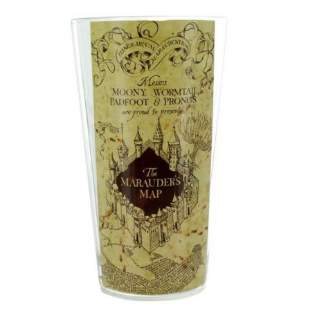 Verre Harry Potter - Carte du Maraudeur