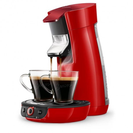 SENSEO HD6564/81 Machine a café a dosette Viva Duo Select - Rouge
