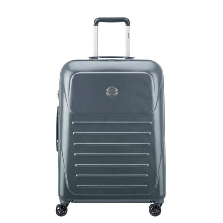 VISA DELSEY Valise Trolley Munia - 66 cm - 4 Roues - Anthracite