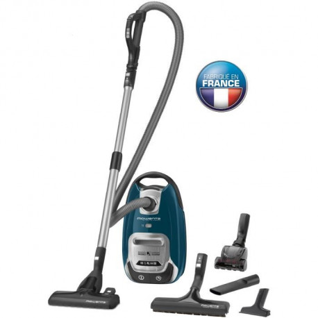 ROWAENTA RO6451EA Aspirateur traîneau Silence Force 4A Animal Care - 750W - 66dB