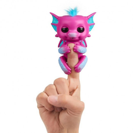 WOWWEE Fingerlings bébé Dragon Sandy - Rose