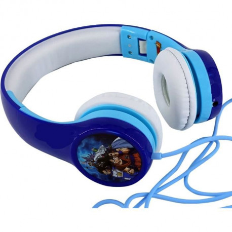DRAGON BALL SUPER Casque audio Trunks et Goten - Bleu