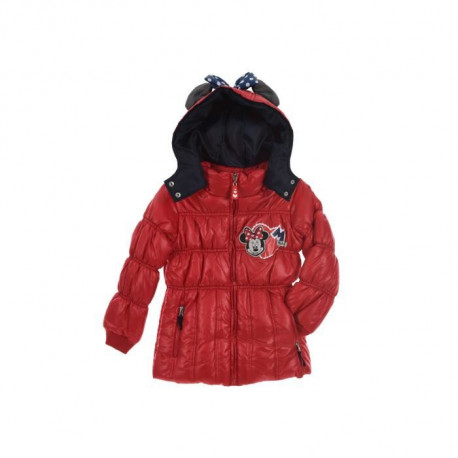 DISNEY MINNIE Doudoune Rouge Enfant Fille