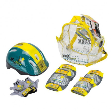 SIMPSONS Pack Set de Protections + Casque