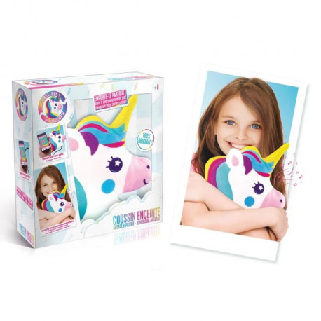 CANAL TOYS - I BELIEVE IN UNICORN - Coussin Enceinte Enfant Licorne
