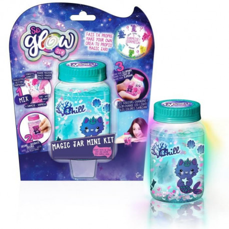 CANAL TOYS - SO GLOW - Magic Jar - Crée ta Magic Jars Lumineuse !