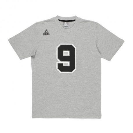 PEAK T-shirt TP Big 9 - Enfant - Gris
