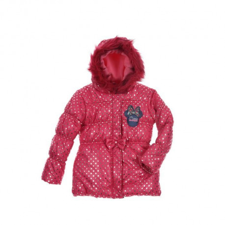 DISNEY MINNIE Doudoune Rose Fuchsia Enfant Fille