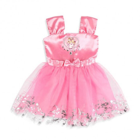 DISNEY PRINCESSES Robe Rose Enfant Fille