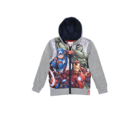 DISNEY MICKEY Veste Sweat Rouge Enfant Garçon