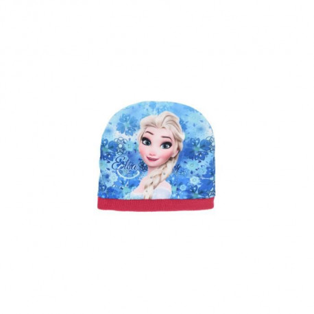 LA REINE DES NEIGES Ensemble Bonnet + Col Snood + Gants Rose Enfant Fille