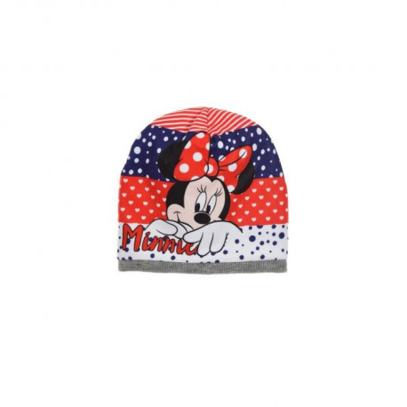 DISNEY MINNIE Bonnet Gris Clair Enfant Fille