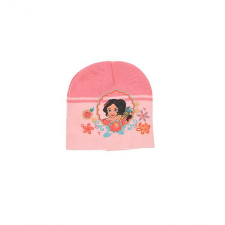 ELENA D'AVALOR Ensemble Bonnet + Gants Rose Enfant Fille