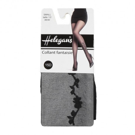 HELEGANS Collant Papatya 15D Gris Anthracite Femme